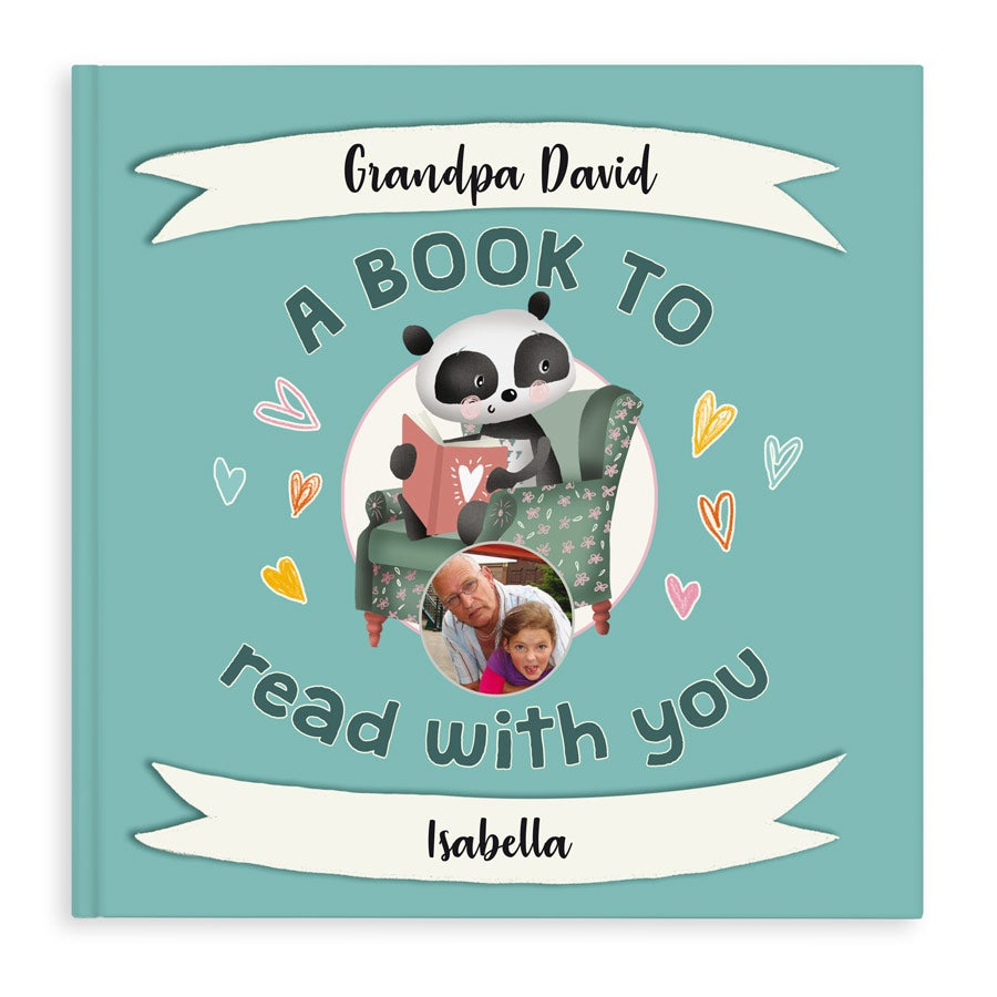 A book to read with you - Grandpa - Hardcover