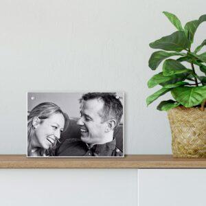 Acrylic photo block - 7 x 4,5 cm