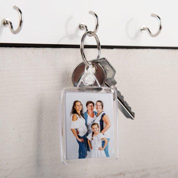 Acyrlic photo keychain - double-sided (set of 25)