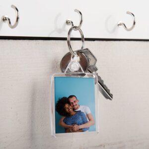 Acyrlic photo keychain - double-sided (set of 3)