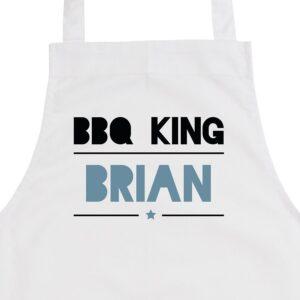 BBQ Apron - White