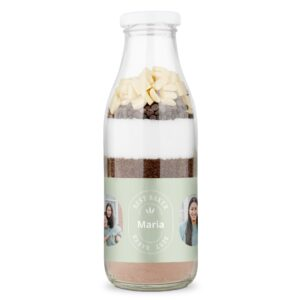 Baking mixture in a bottle - Double chocolate brownies
