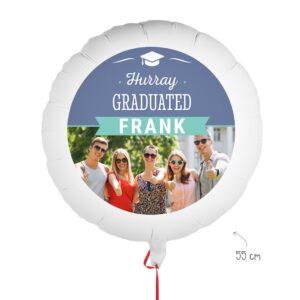 Balloon with photo - Graduation