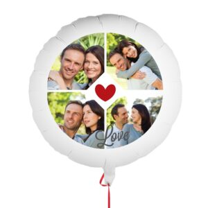Balloon with photo - Love
