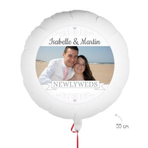 Balloon with photo - Marriage