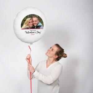 Balloon with photo - Valentine's Day
