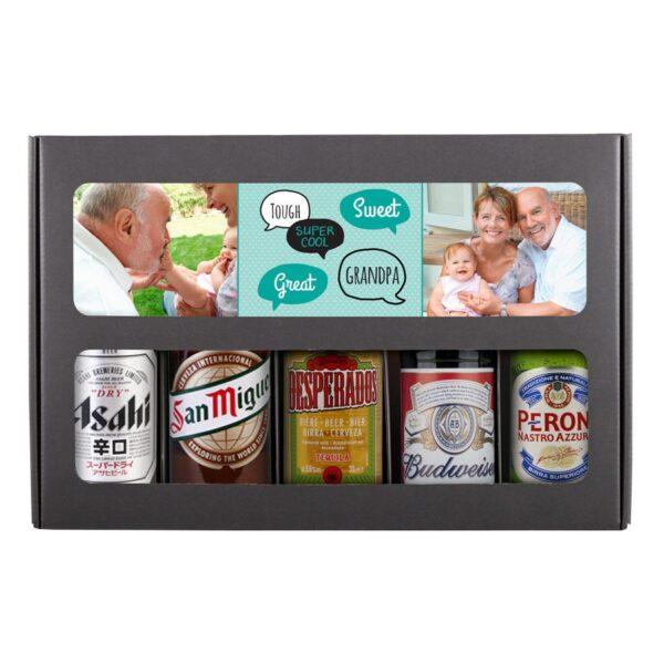 Beer gift set - grandpa (International)