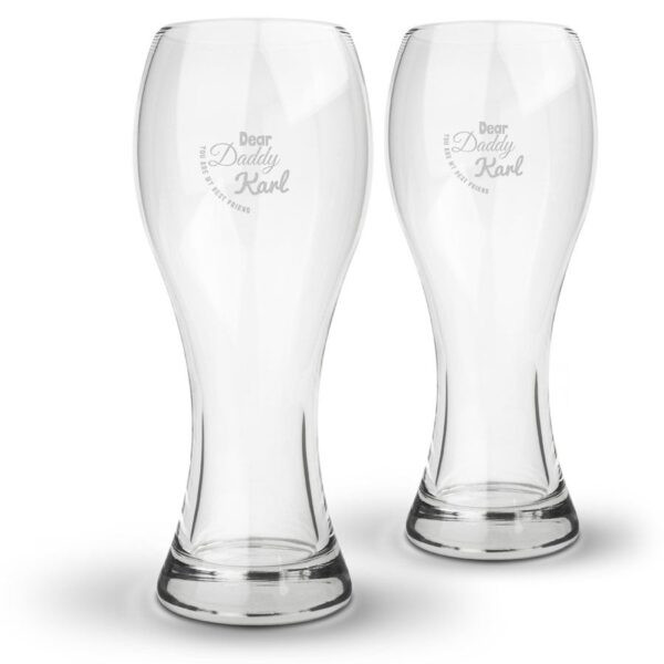 Beer glass - Father's Day (2 glasses)