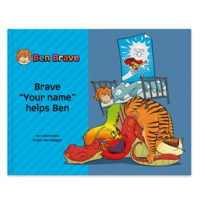 Book with name - Ben Brave - Hardcover