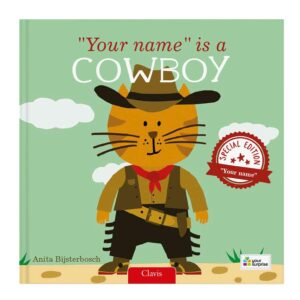 Book with name - Your name is a cowboy (Hardcover)