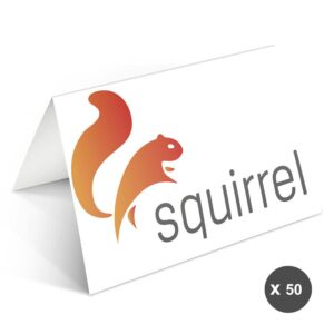 Business greeting cards with photo - 50 greeting cards