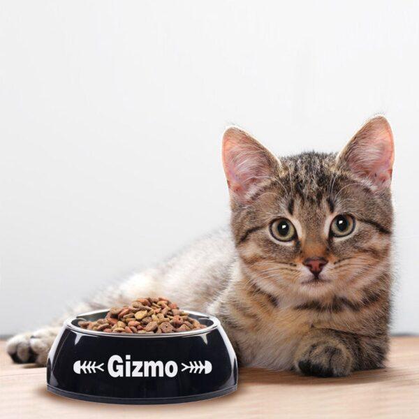 Cat feeding bowl - Black