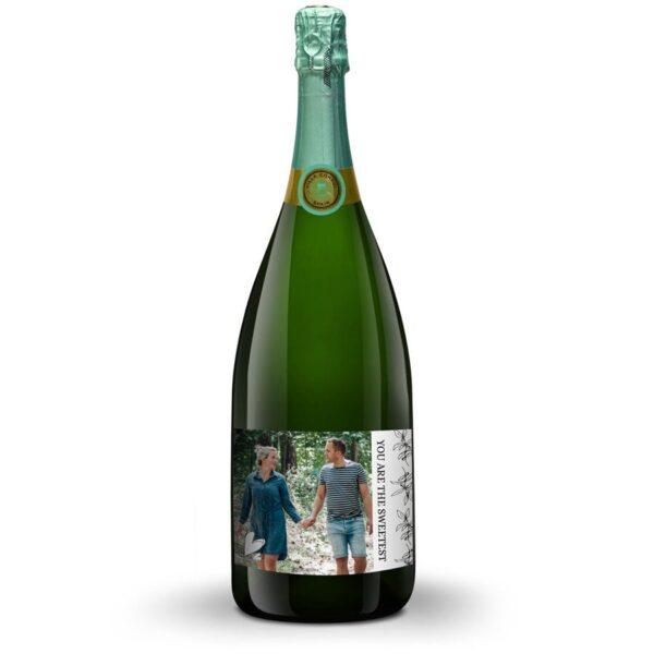 Cava with personalised label - Villa Conchi - Magnum