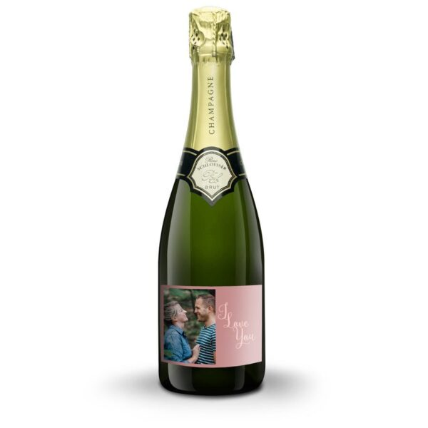 Champagne with printed label - René Schloesser (750ml)