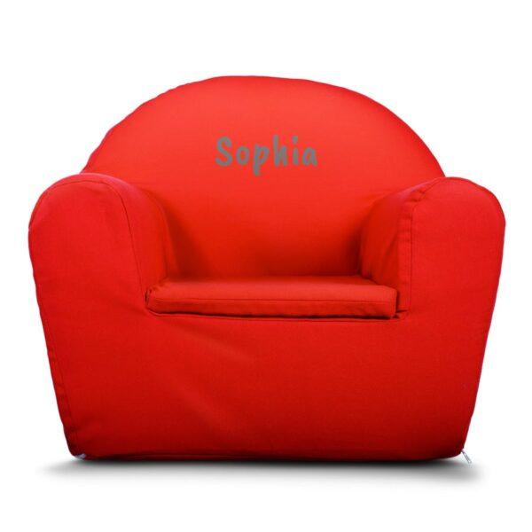 Children's Chair - Red