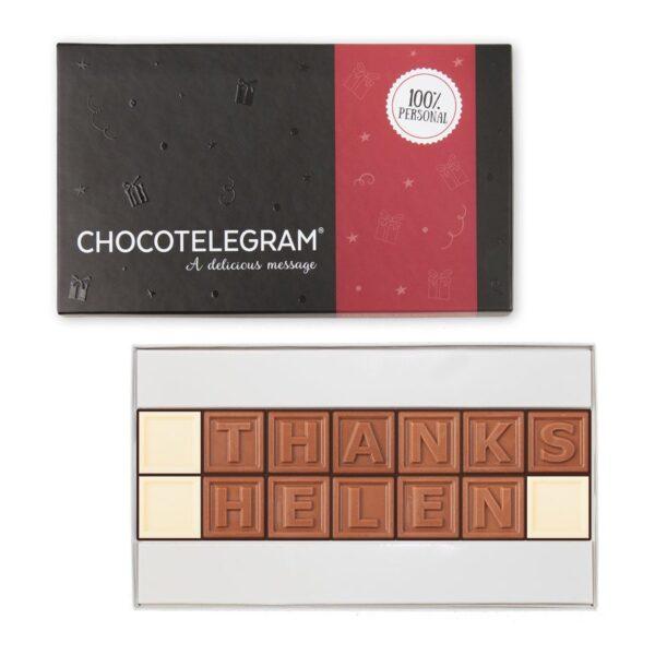 Chocolate telegram - 14 characters
