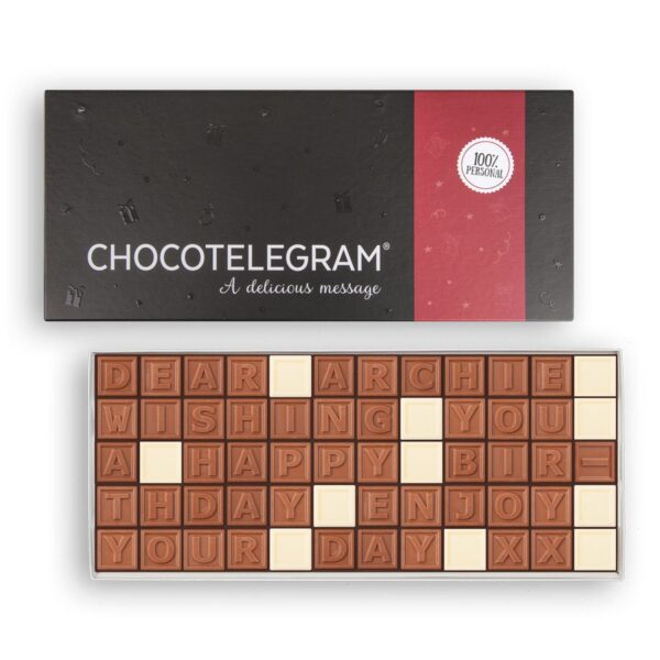 Chocolate telegram - 60 characters