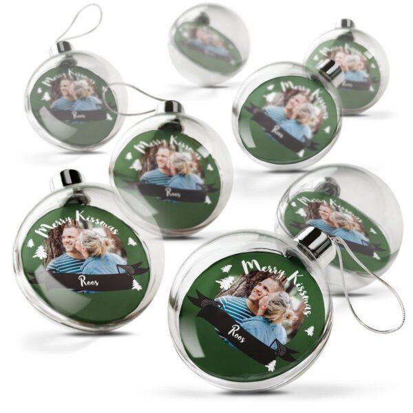Christmas Bauble - Transparent (set of 8)