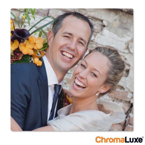 ChromaLuxe Aluminium Photo Panel (20x20cm)