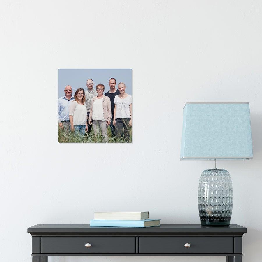 ChromaLuxe Aluminium Photo Panel (30x30cm)