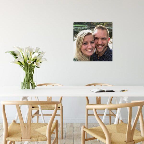 ChromaLuxe Aluminium Photo Panel (50x50cm)