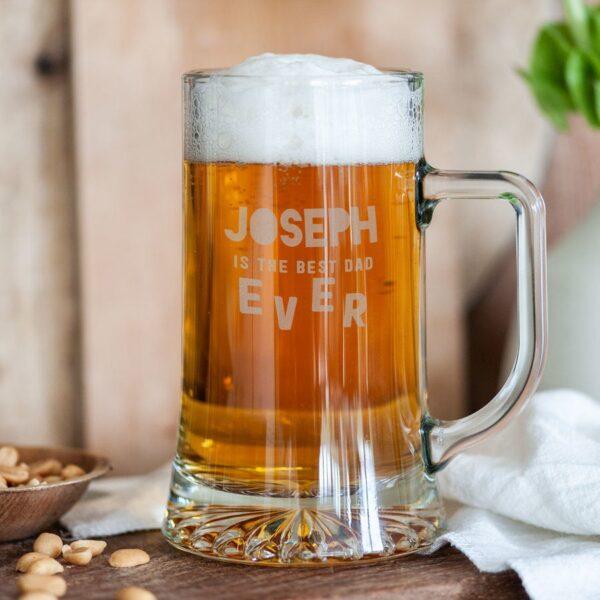 Father's Day beer mug