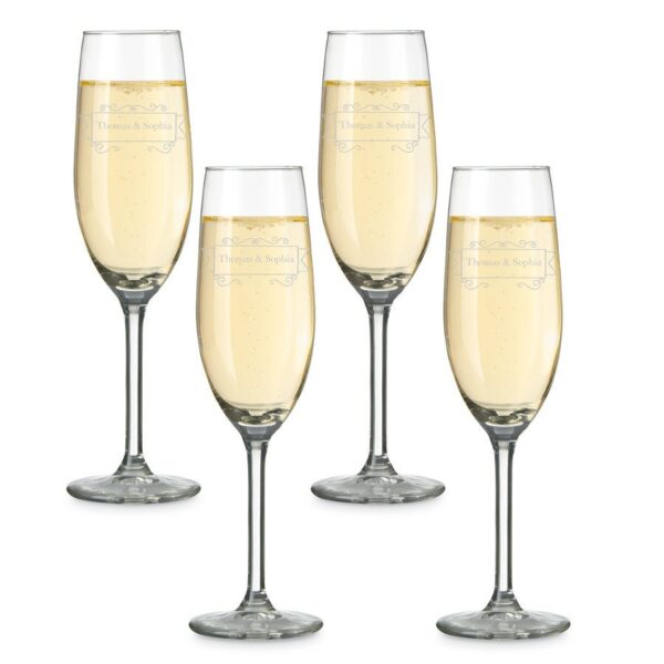 Glass - Champagne (set of 4)