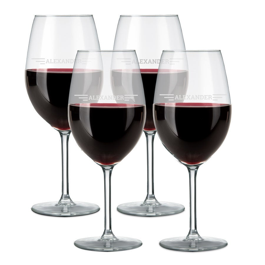 Glass - Red Wine (set of 4)
