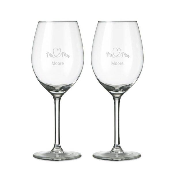 Glass - Wine (set of 2)