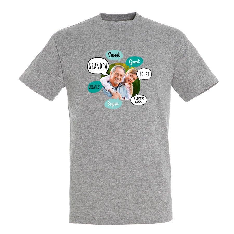 Grandfather shirt - Grey - L