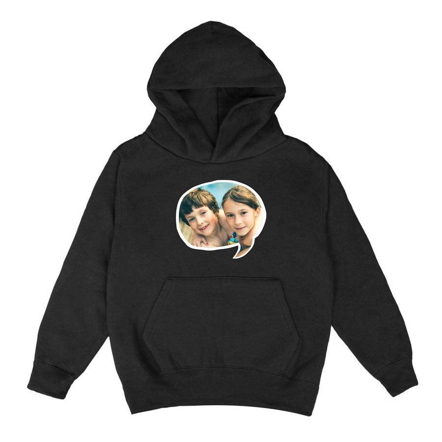 Kids hoodies - Black (8 years)