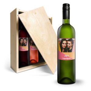 Luc Pirlet Syrah, Merlot and Sauvignon Blanc