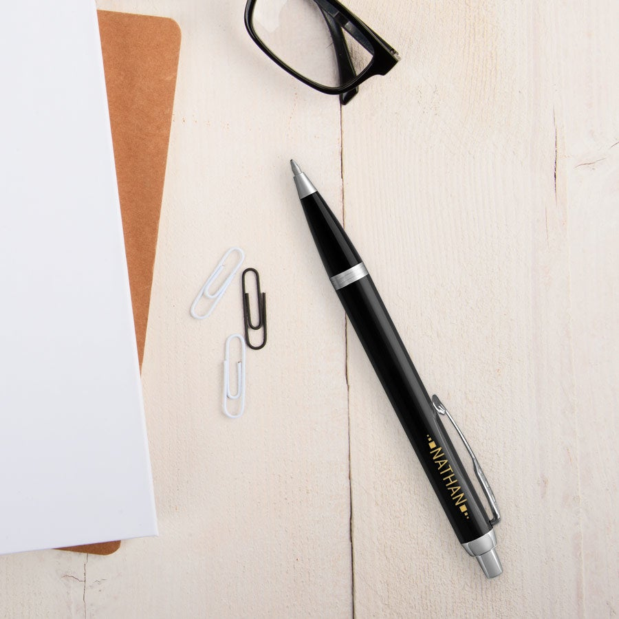 Parker - IM ballpoint pen - Black (right-handed)