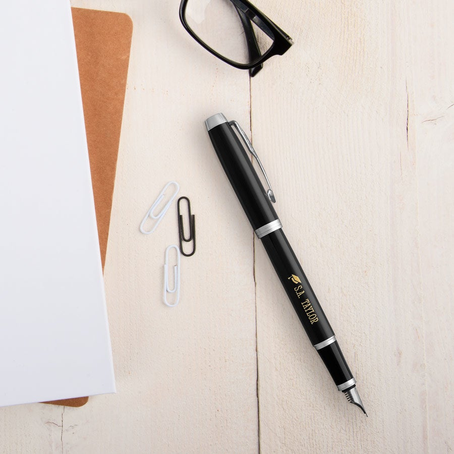 Parker - IM - fountain pen - Black (left-handed)
