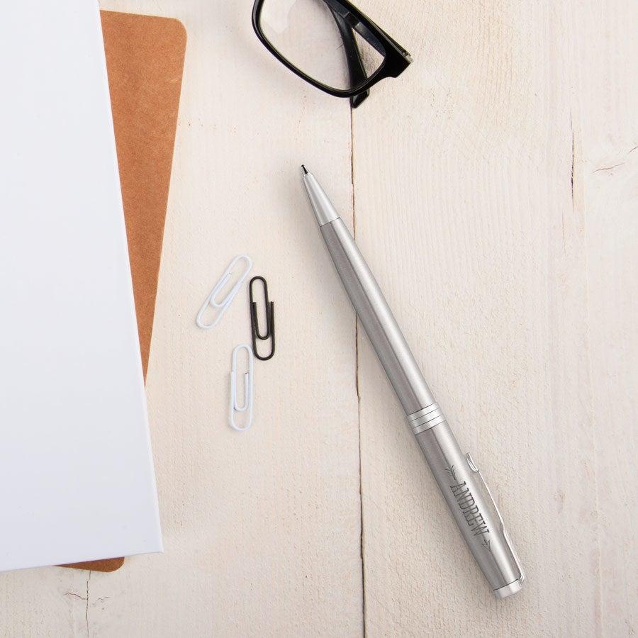 Parker - Sonnet Steel ballpoint pen - Silver (right-handed)