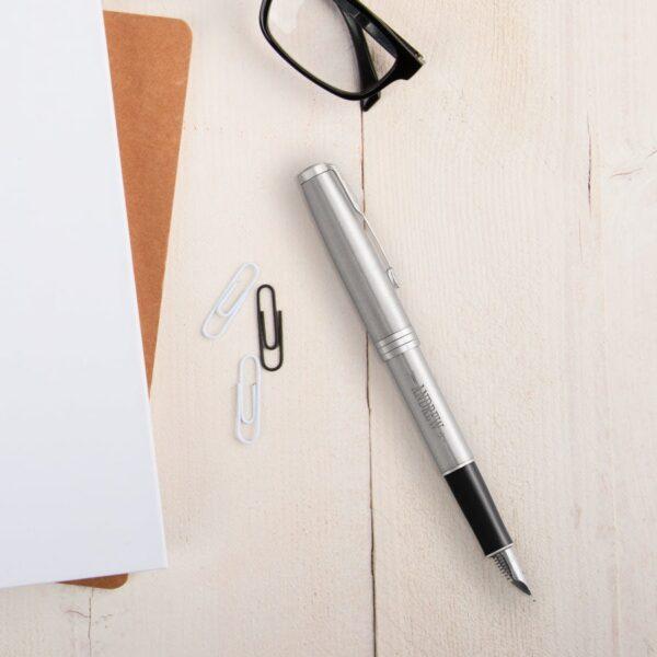 Parker - Sonnet - fountain pen - Silver (left-handed)