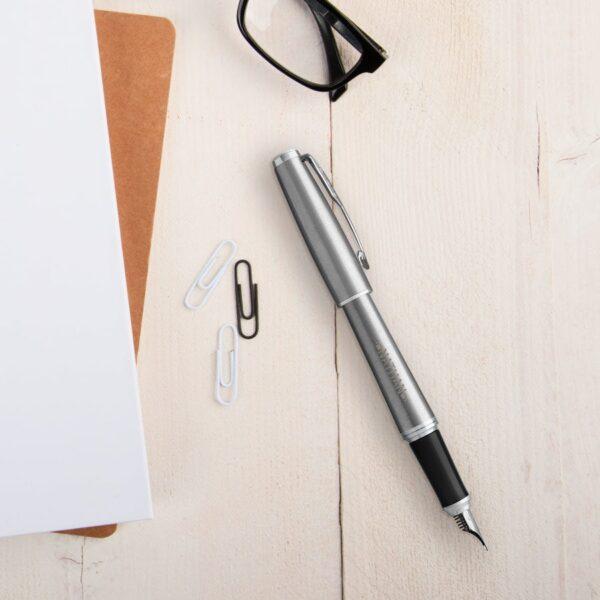 Parker - Urban - fountain pen - Silver (left-handed)