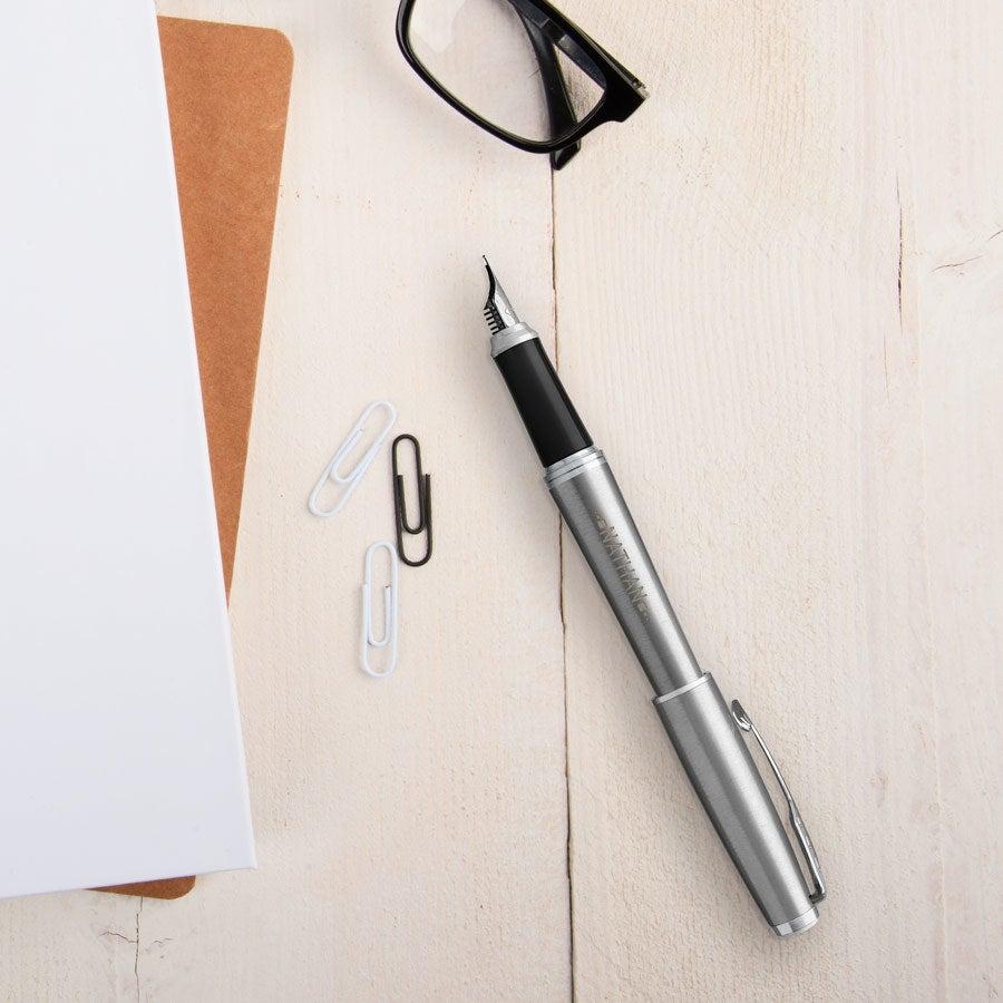 Parker - Urban - fountain pen - Silver (right-handed)