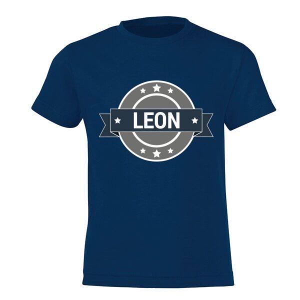 Personalised T-shirt - Children - Navy - 92