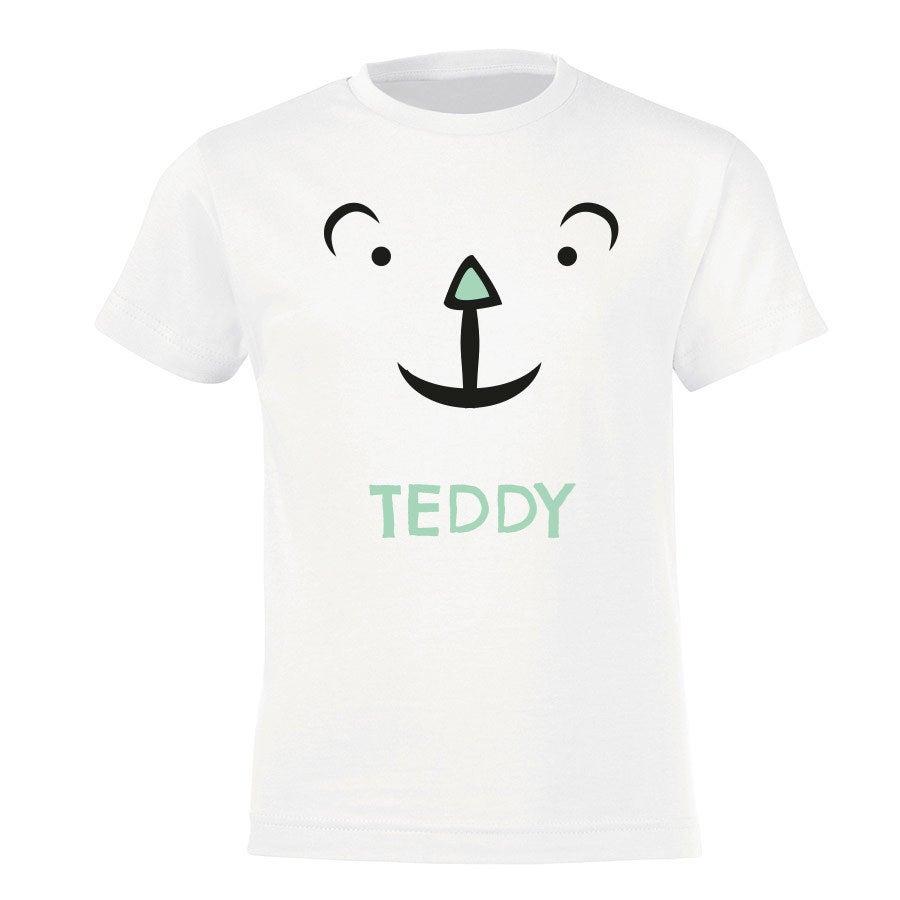Personalised T-shirt - Children - White - 92