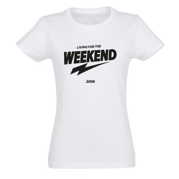 Personalised T-shirt - Women - White - M