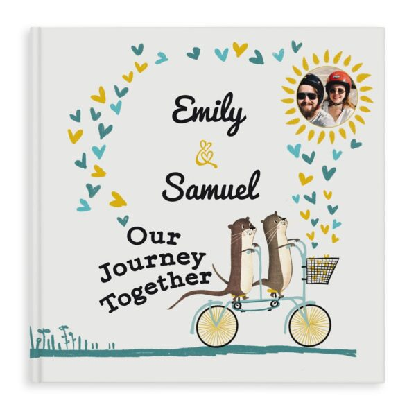 Personalised book - Our Journey Together - Hardcover