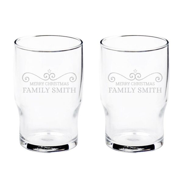 Personalised water glass (2 pieces)