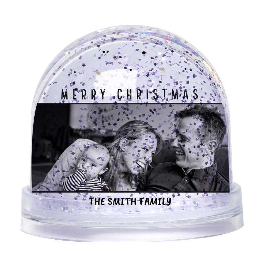 Snow globe - Glitter