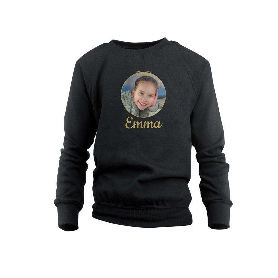 Sweatshirt - Kids - Black - 10years