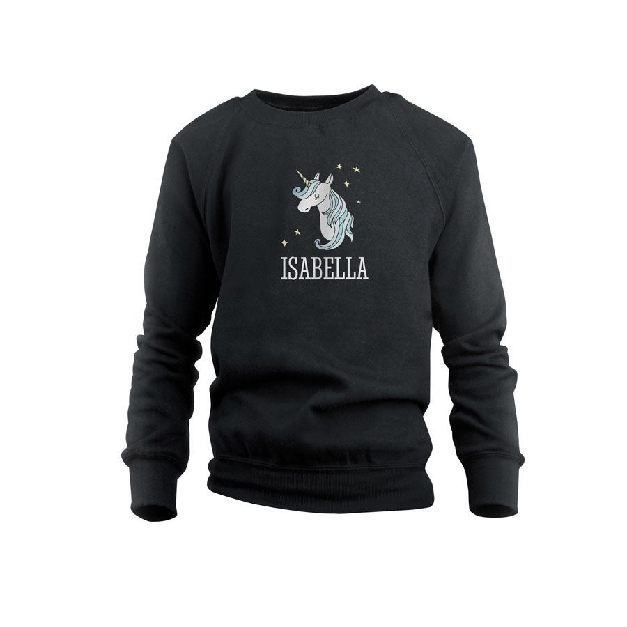 Sweatshirt - Kids - Black - 6years