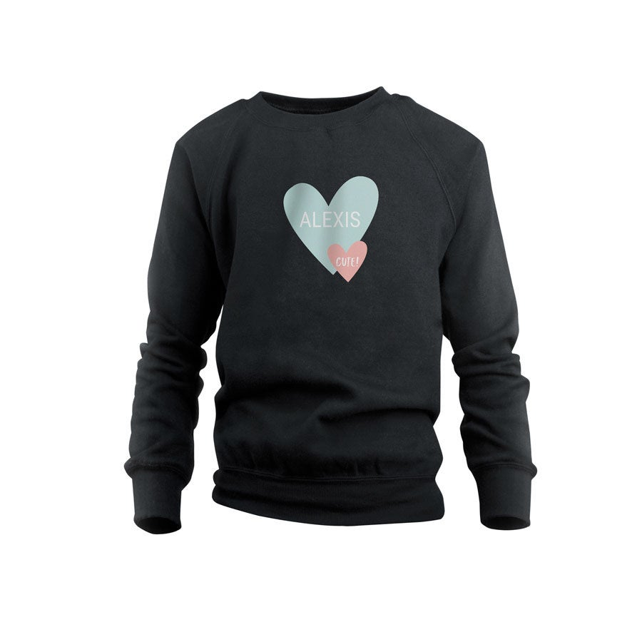 Sweatshirt - Kids - Black - 8years