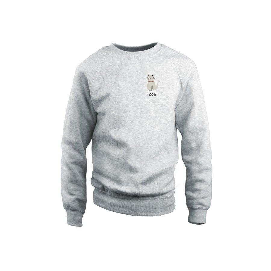 Sweatshirt - Kids - Grey - 6years