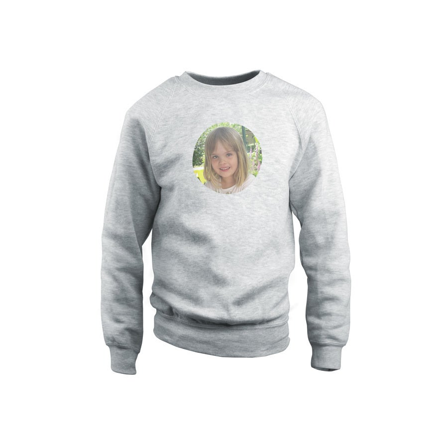 Sweatshirt - Kids - Grey - 8years
