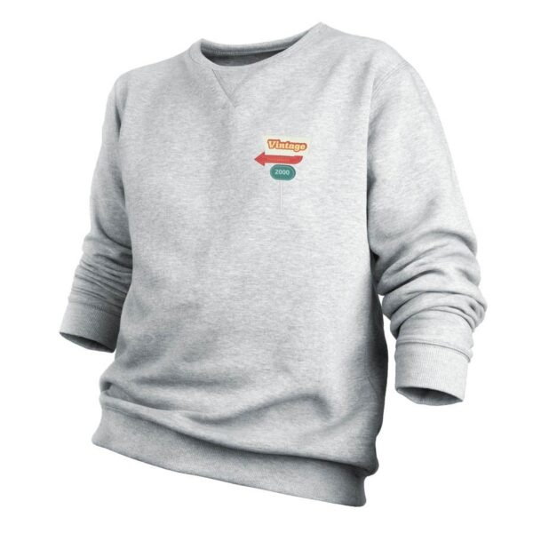 Sweatshirt - Men - Grey - M
